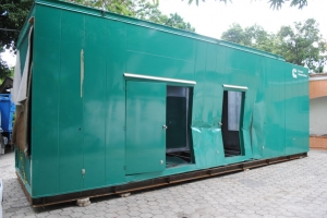 35 ft. Insulated, high ceiling, noise proof Container For use as Retail or Office Space