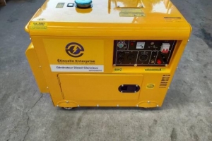 Etincelle Disel Generator/Generatrice Silencieux 8000 watts