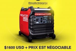 Predator inverter generator 3500 watts